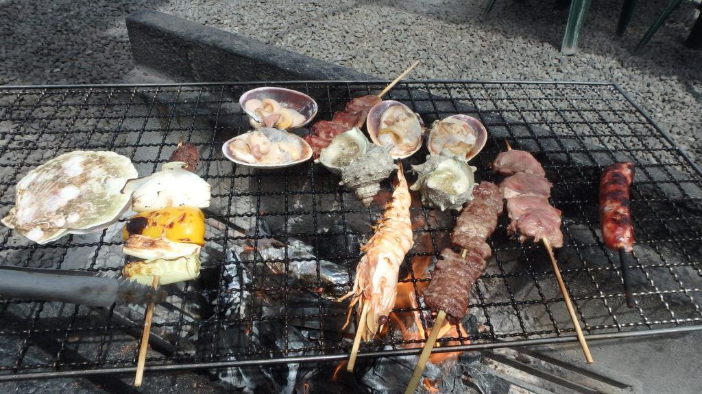 海鮮BBQ場「魚太郎」へ行こう
