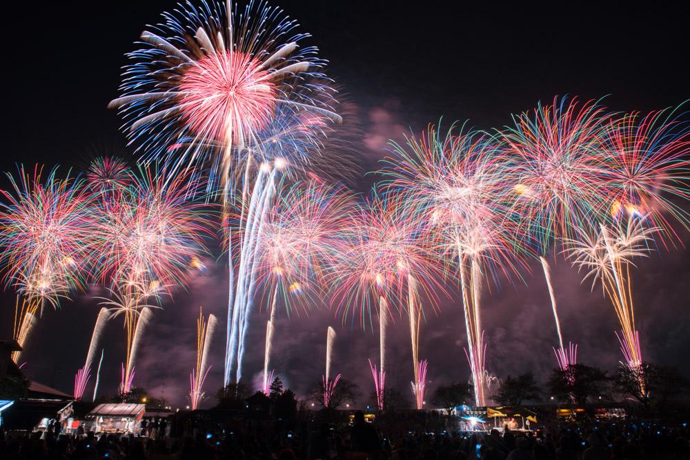 土浦全国花火競技大会2021!見どころ、穴場、混雑ぶりをチェックしよう