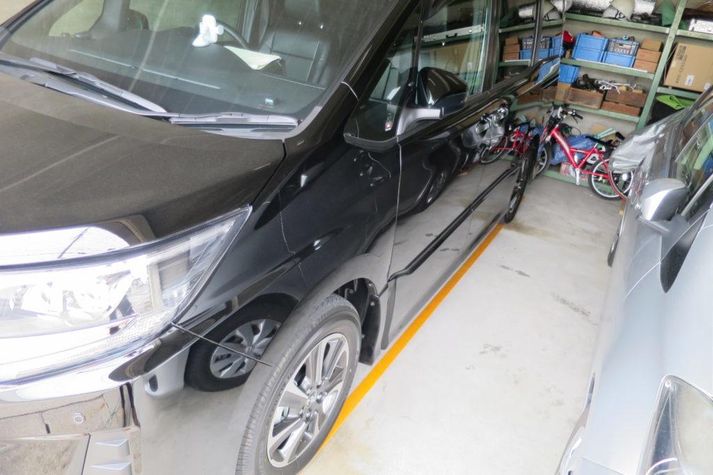 トヨタ新型ノア購入記2018③~おすすめ装備品、車庫入れ安全対策