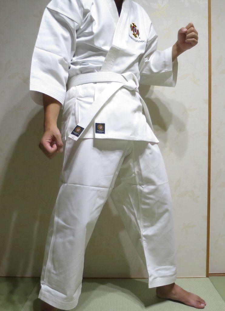少林寺拳法の道衣が届いた~着用レビュー、裾直し、洗濯縮みを検証