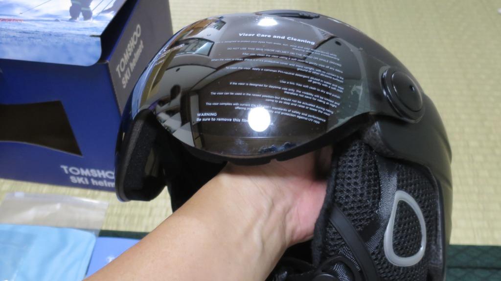 スキースノボヘルメットとVAXPOTプロテクターで怪我防止対策