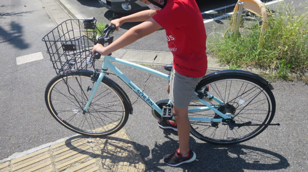 ブリジストン自転車・シュライン26を小4長男に誕生日プレゼント!あさひで購入